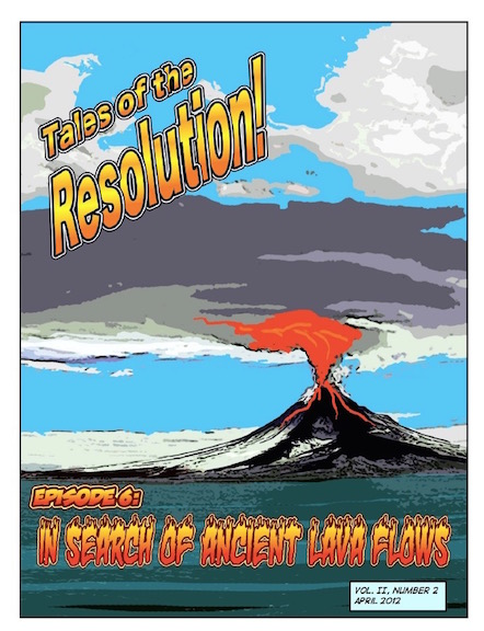 Tales of the Resolution Ancient Lava Flows cover