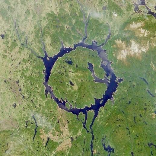 Manicougan Crater