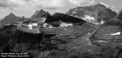 Boulder Glacier in 2007