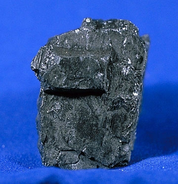 Here's what a piece of coal looks like