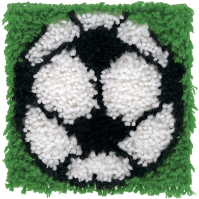 Tell your friends this is a latch hook rug of a rhinovirus.