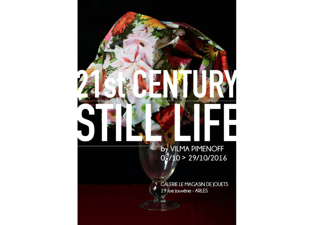 21st Century Still Life- exhibition at Galerie Le Magasin de Jouets, Arles, France. opening saturday the 8th of Oct. 2016. See you there!