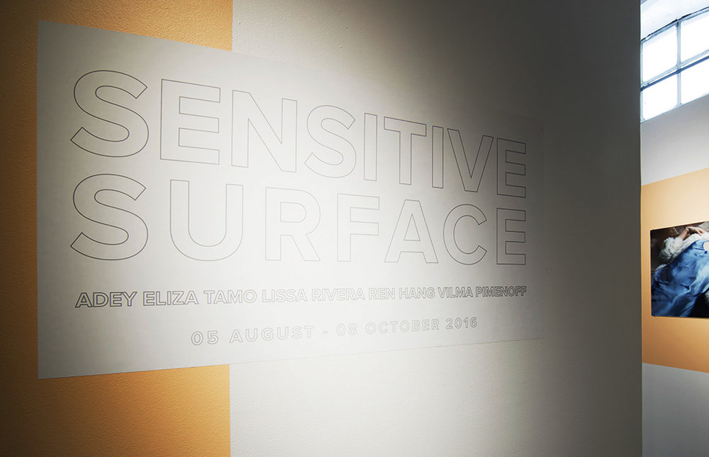 'Sensitive Surface' Group exhibition at Galleri VasliSouza Malmö Sweden, 05 August - 08 October 2016