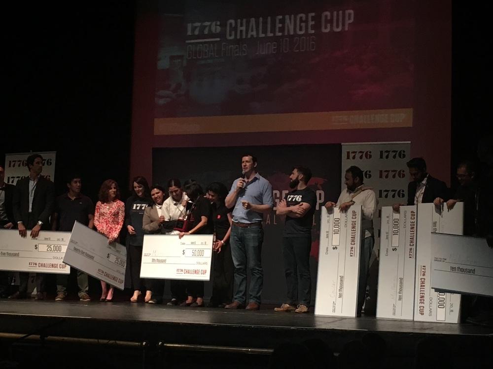 The winner & runners up of the 1776 Challenge Cup.