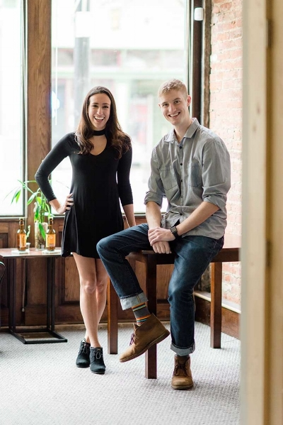 Venue Co-Founders Lea Richards and Andrew Bowman. Image courtesy of Venue