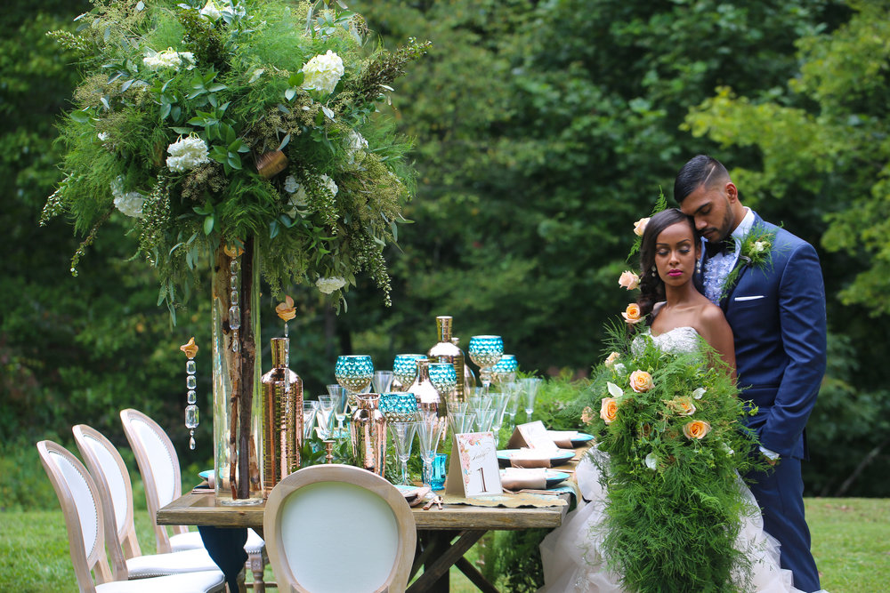 Jazzy Mae Photography, Distinct Event Planning, SHE Floral Design Co.