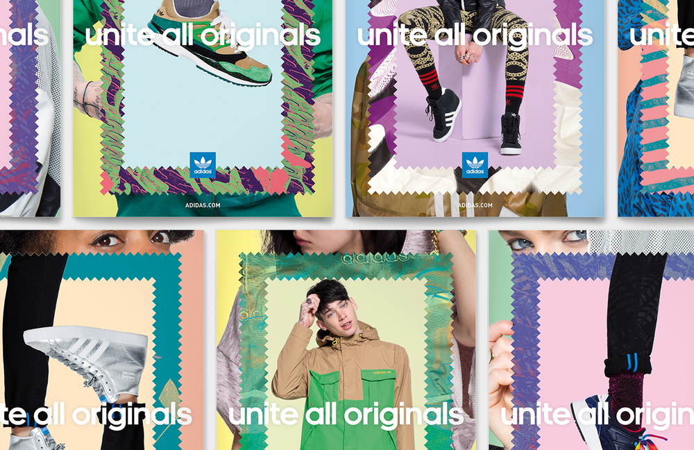 adidas</br>Unite all Originals</br>Campaign visuals</br>(2013)