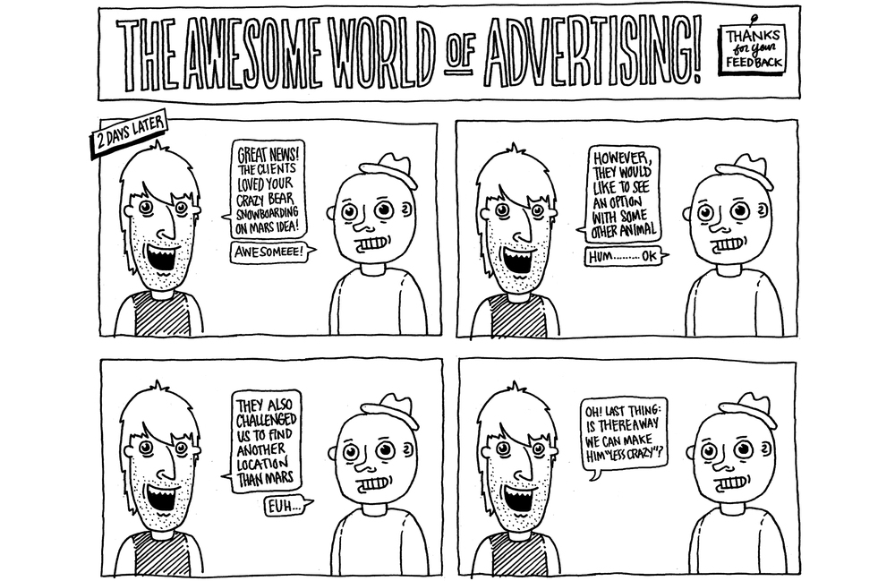 The Awesome World of Advertising</br>Personal Project</br>(2009 — 2013)