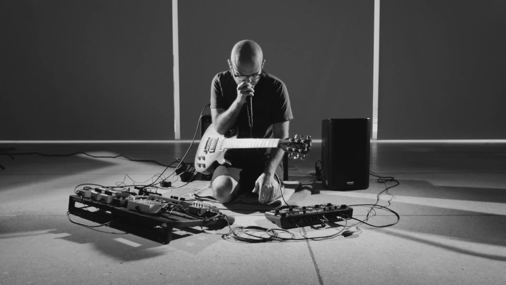 Screenshot from a Live Session at The Tampa Museum of Art Captured by Video Shampoo