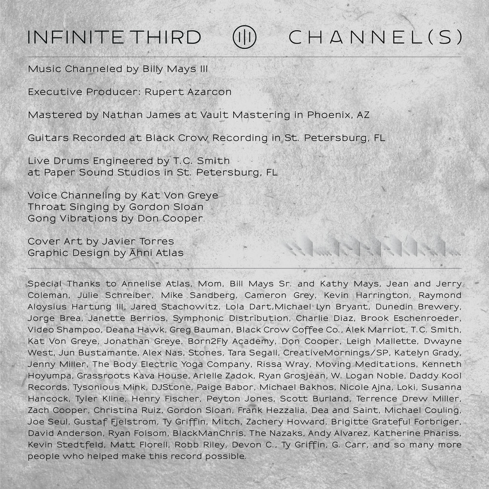 Channel(s) Credits