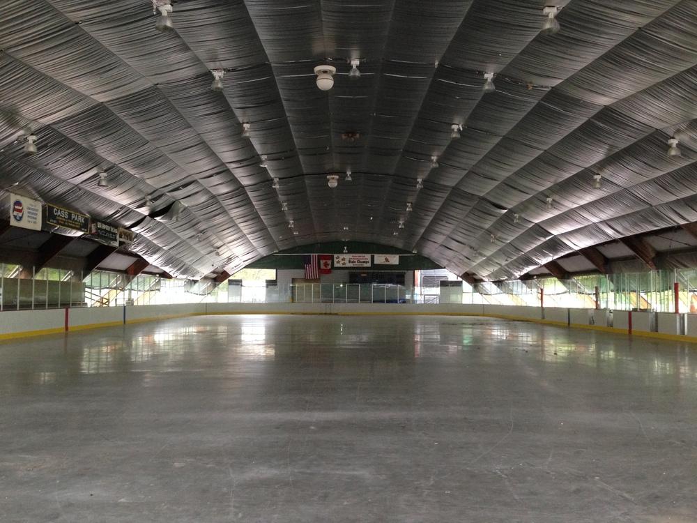 Cass Park Ice Rink, Ithaca, NY
