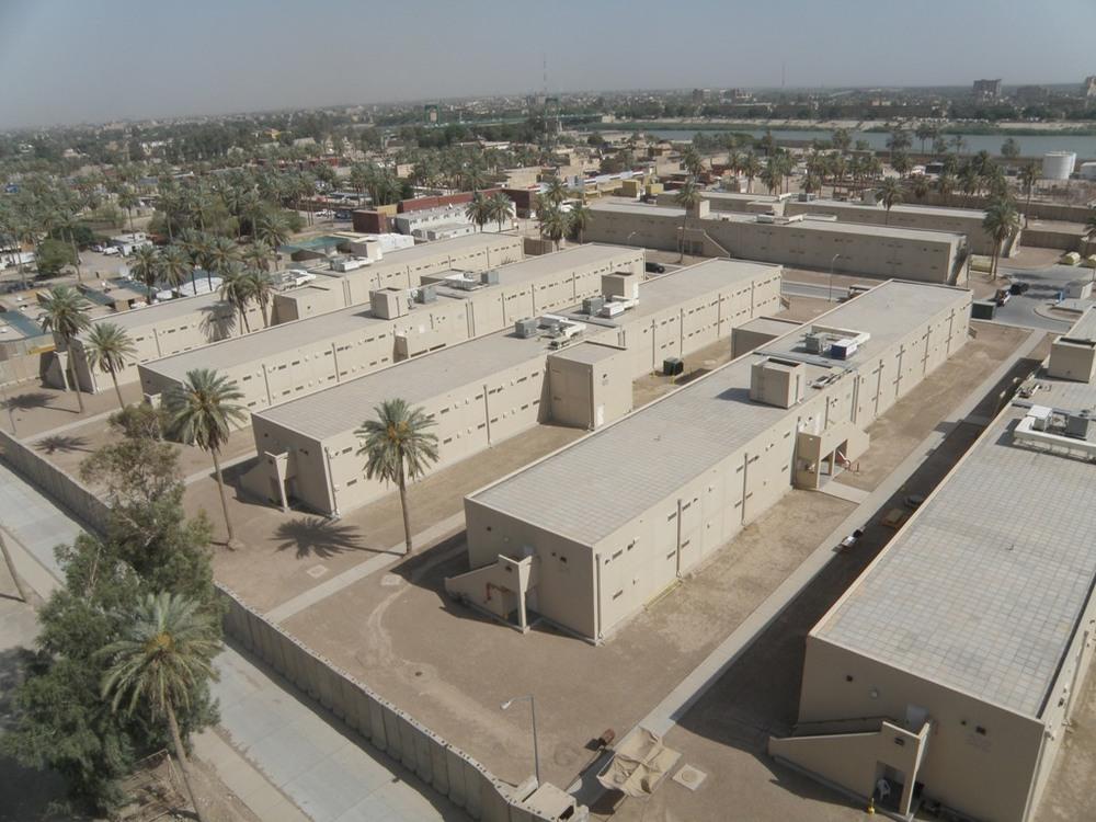 East End Barracks, Baghdad Embassy