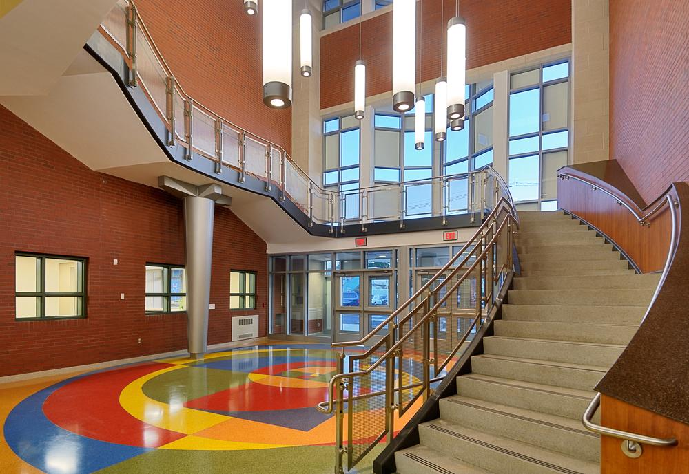 Montclair Elementary NJ -  Lobby - LEED Certifiable.jpg