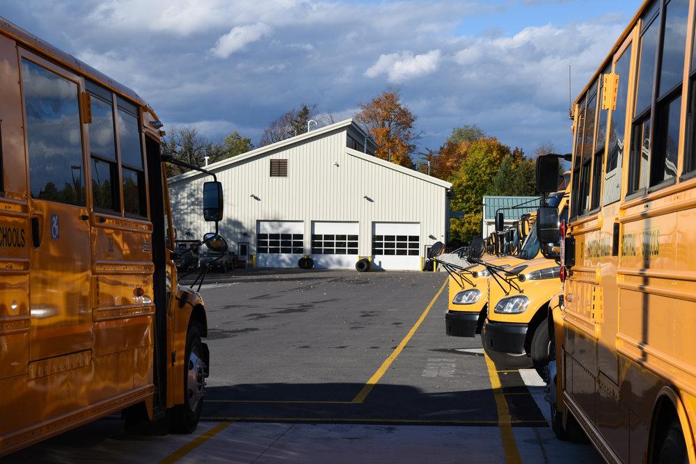 Fayetteville-Manlius Central School District Bus Garage Exterior