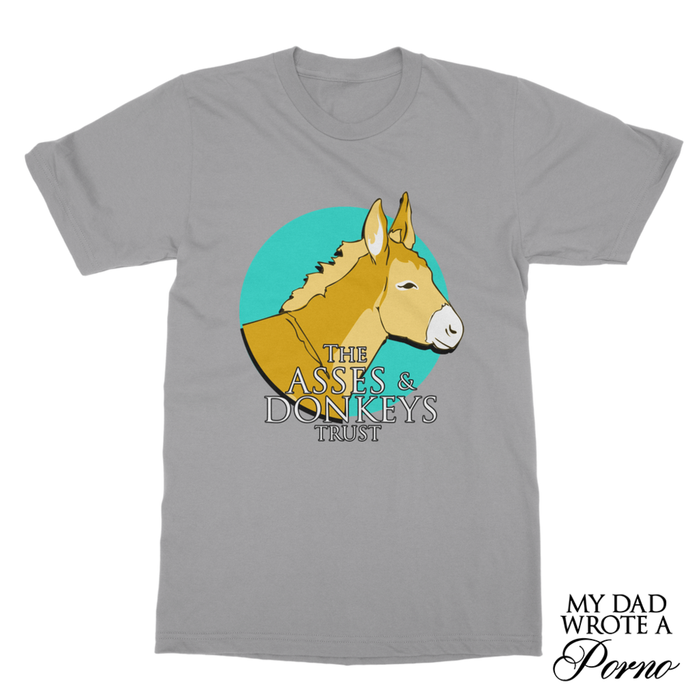 The Asses & Donkeys Trust Pocket Tee £24.99 (Available in 18 Colours)