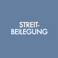 Streitbeilegung - Mediation