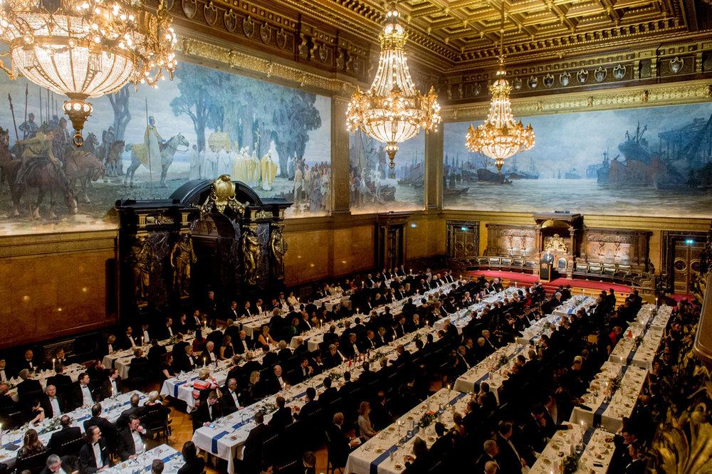 Großer Festsaal, Hamburger Rathaus; Foto: OAV, Christian Kruppa