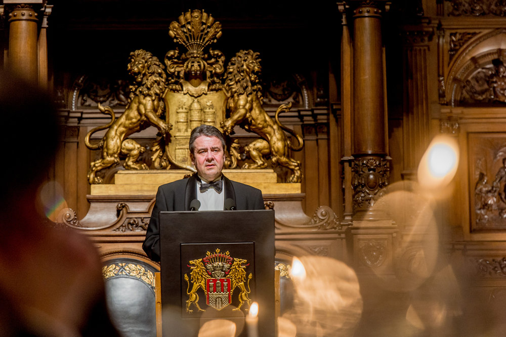 Bundesaußenminister Sigmar Gabriel; Foto: OAV, Christian Kruppa