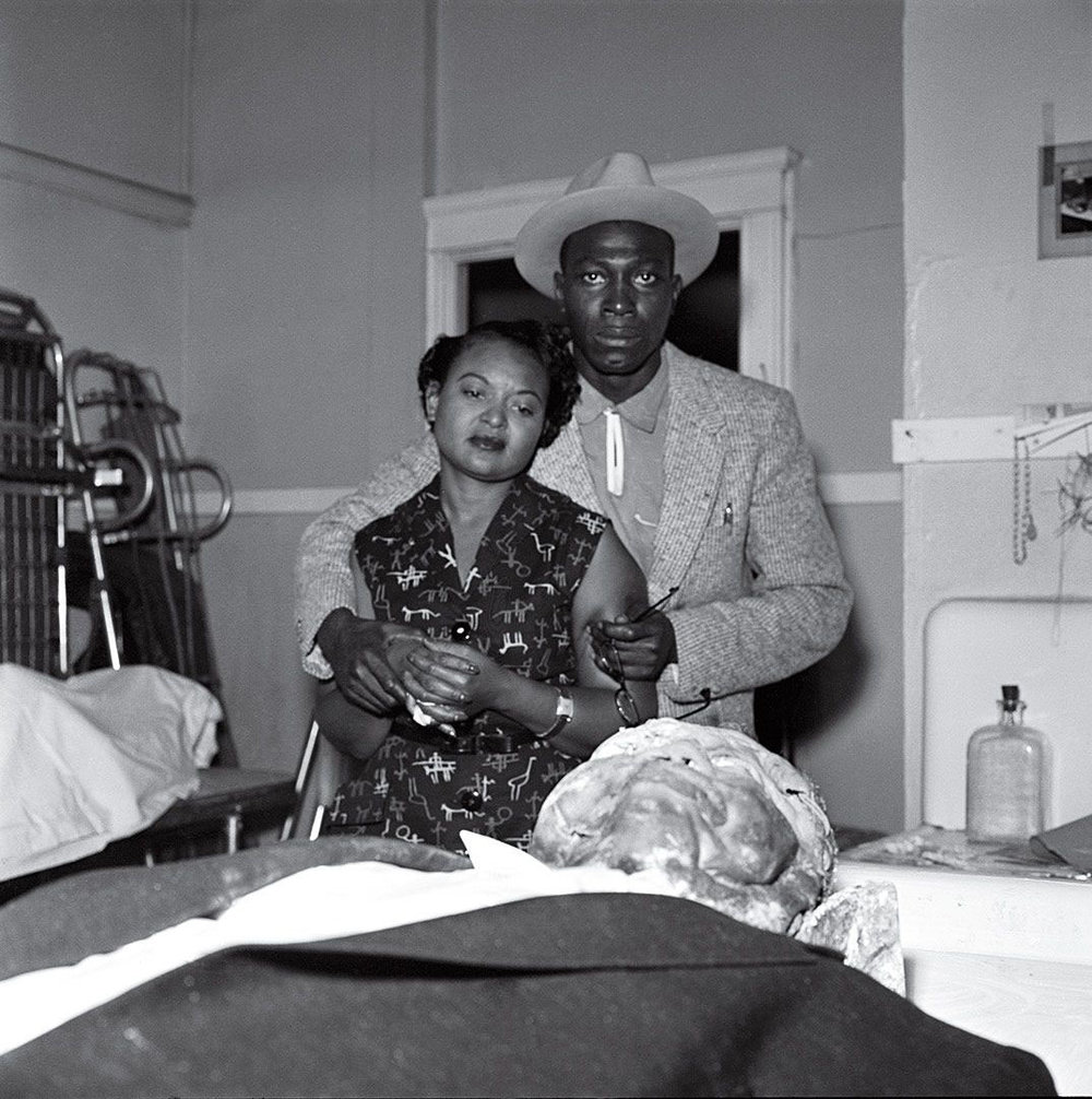 Mamie Till identifies her son on the mortician's table (click through to learn more)