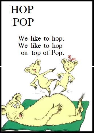 From  Hop on Pop  (Random House)