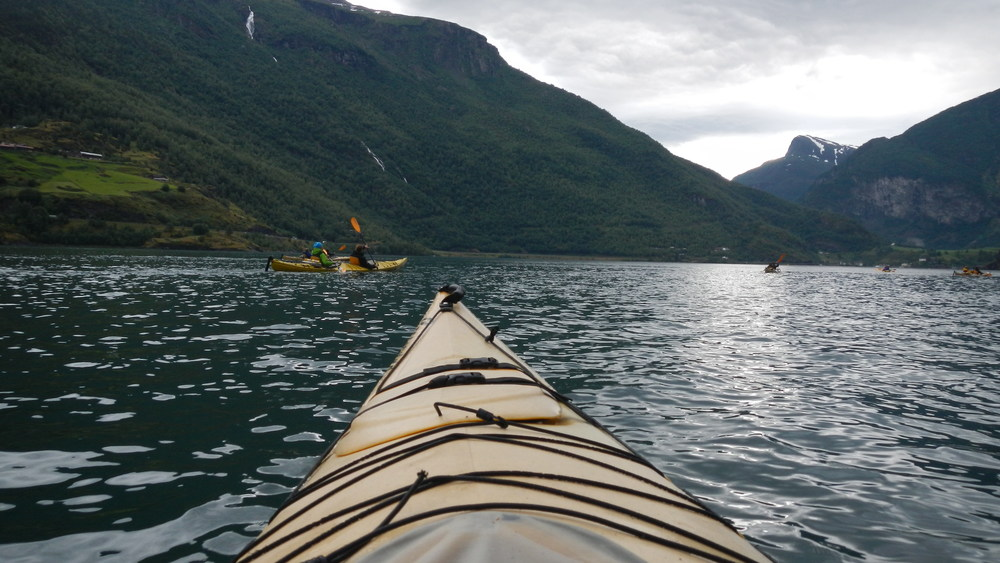 Kayaking in Flam