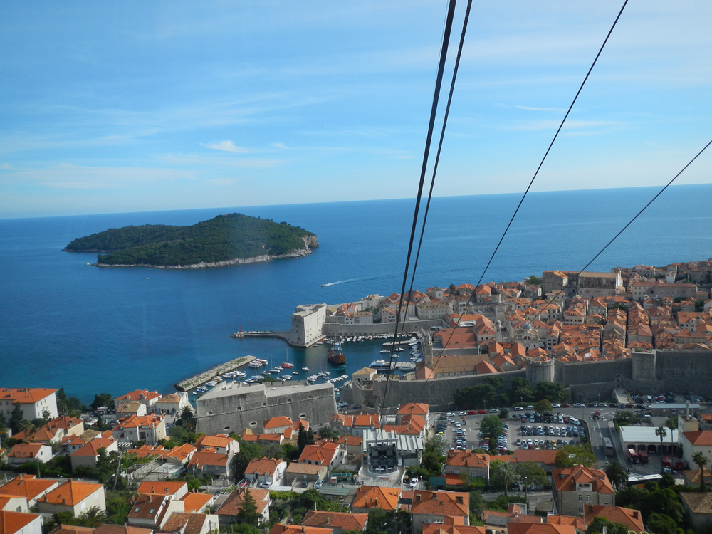 Dubrovnik, from Srđ mountain