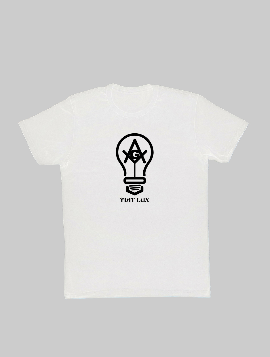 Fiat Lux Freemason T-Shirt white.jpg