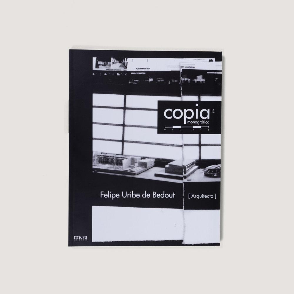 Copia monográfica / Felipe Uribe de Bedout  $60.000