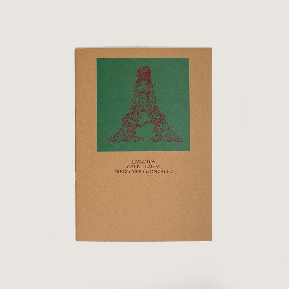 Alfabetos capitulares / Diego Mesa  $60.000