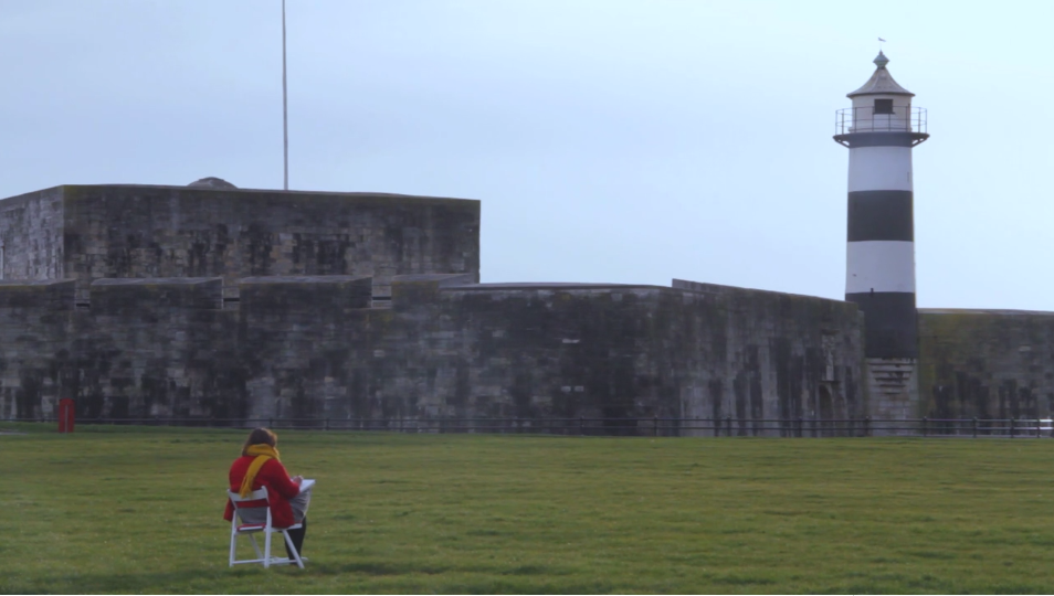 Gathering inspiration at Southsea Castle