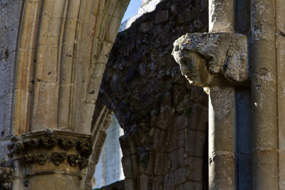 Jumieges Abbey - Detail
