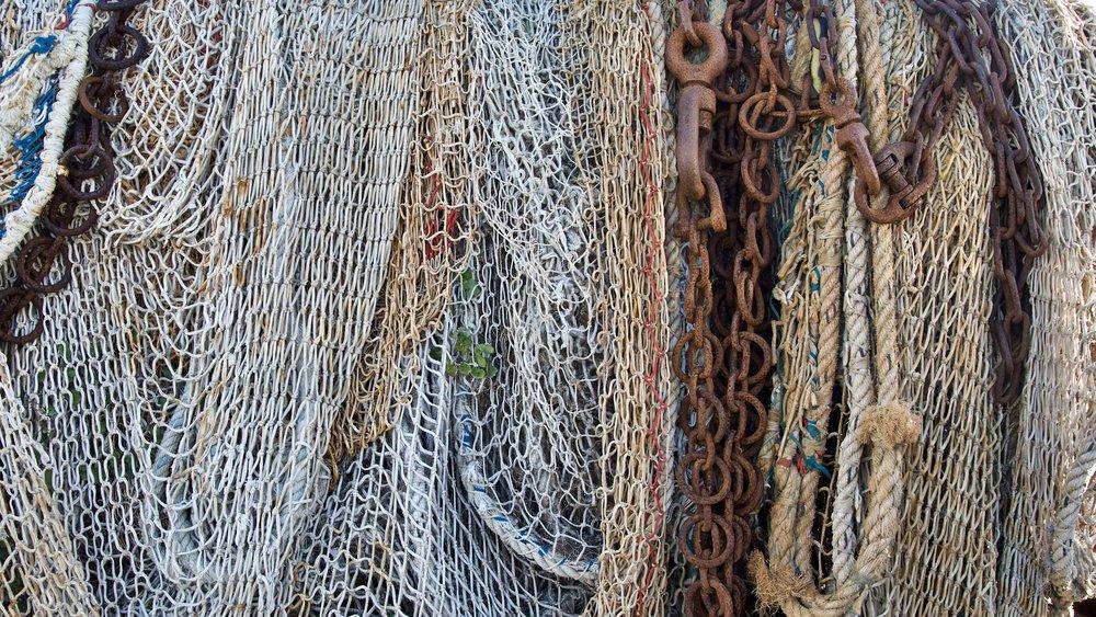 Abandoned Nets - Honfleur