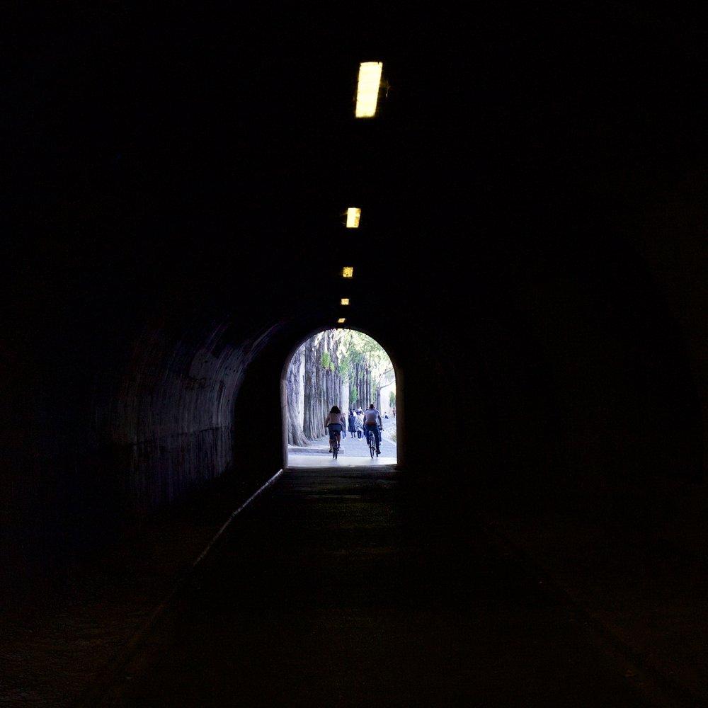 Pedestrian Tunnel Along the Seine