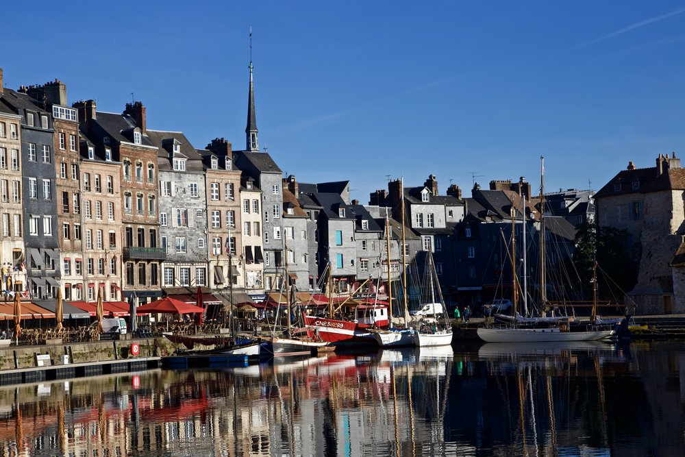 Morning in the Harbor - Honfleur, Normandy, France
