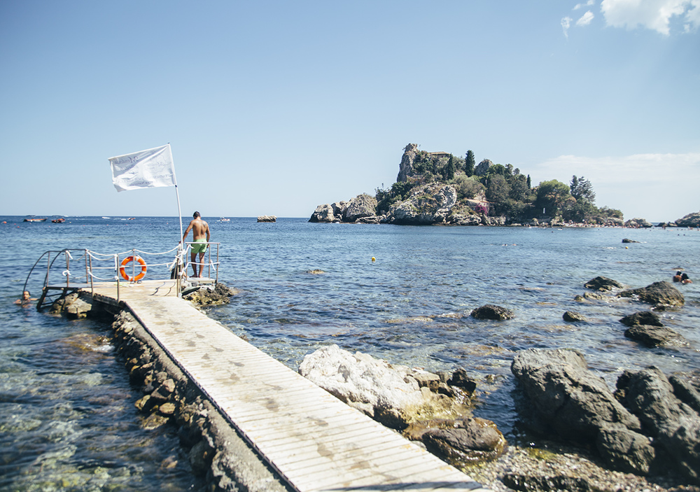 Exploring Taormina, Sicily