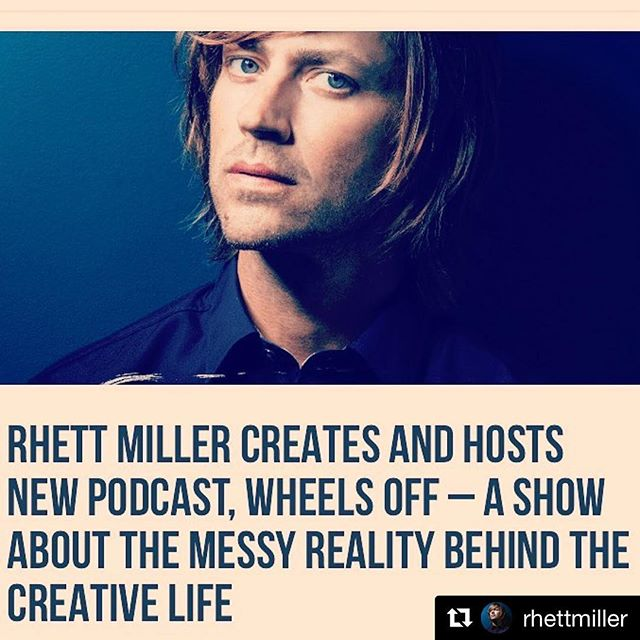 True story. So excited for this, not only because it was a fun project to work on, but because @rhettmiller is a natural. Insightful, entertaining, genuine conversations you will all enjoy. Make sure to subscribe 🙌 #wheelsoff #podcasts #revoicemedia