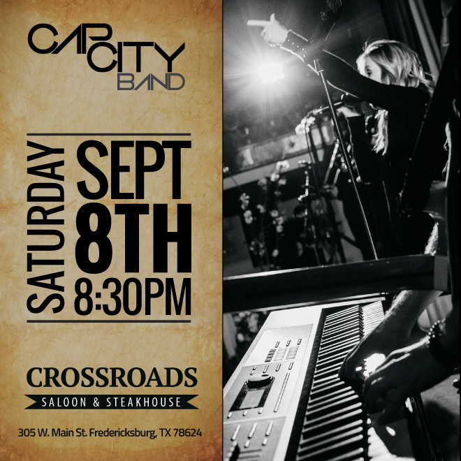 Cap City Band-Crossroads Saloon & Steakhous-Greg Williams Entertainment.jpg