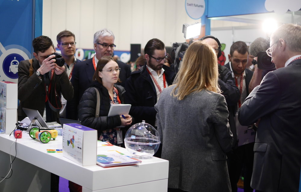 The Press loved us at the BETT show in London.