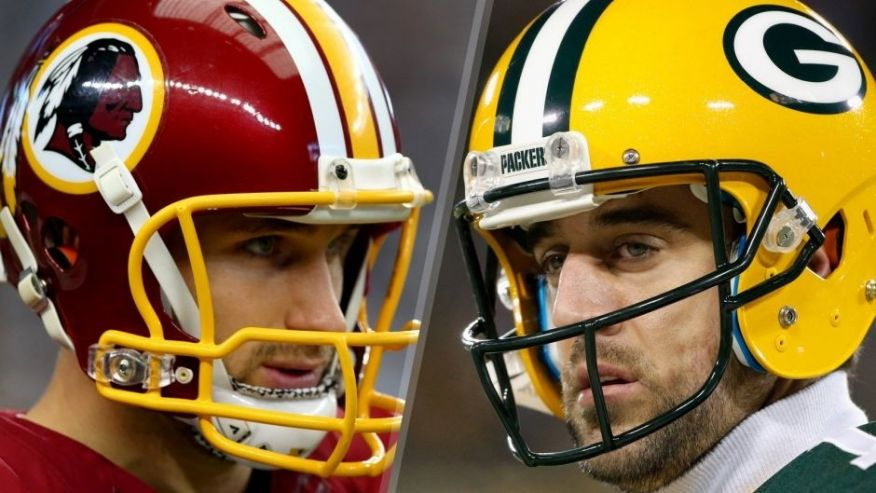 Image result for redskins vs packers 2016