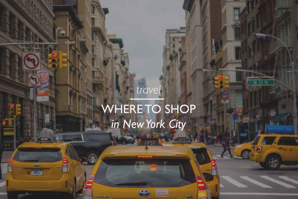 Copy of Where to shop NYC