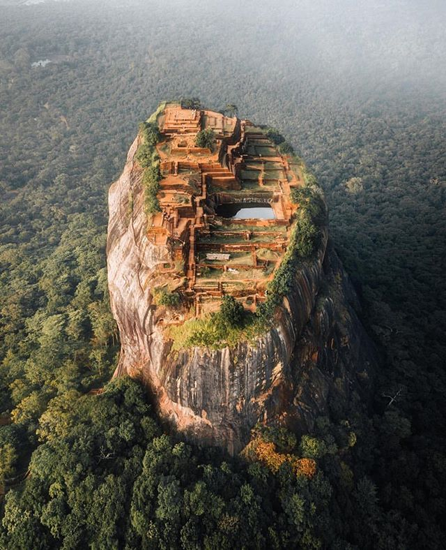 The Ancient City of Sigiriya #UNESCO ✨ #OnMyWanderlist 📷 @jordhammond 📍#SriLanka