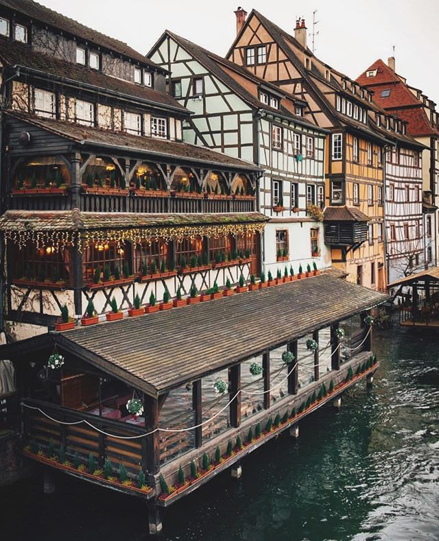 Fall in love with the half-timbered houses in this lively hub - Petite-France 📍Strasbourg, France #OnMyWanderlist 📷 @elensham