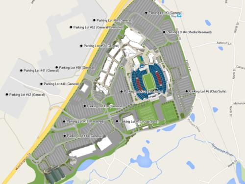 Entertainment & Sports Stadium — Zonas Resort Maps