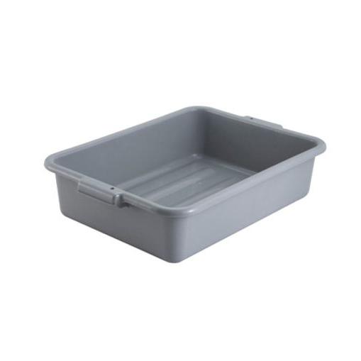 "Winco® Gray 5"" Deep Polypropylene Dish Box,BPA Free  Regularly $5.95, Sale $4.50"