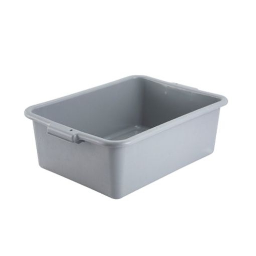 "Winco® Gray 7"" Deep Polypropylene Dish Box, BPA Free  Regularly $6.95, Sale $5.25"