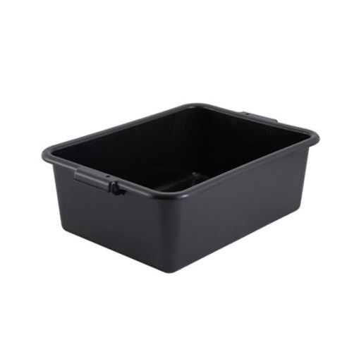 "Winco® Black 7"" Deep Polypropylene Dish Box, BPA Free  Regularly $6.95, Sale $5.25"