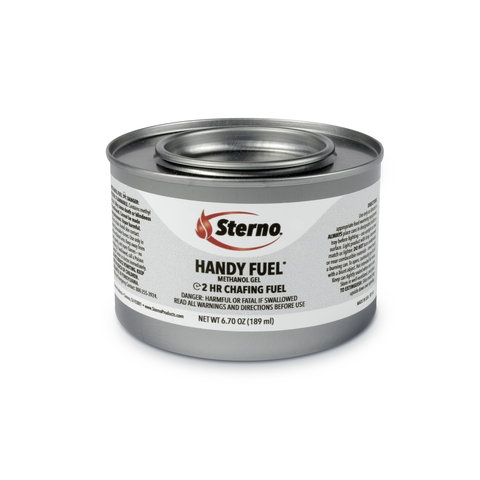 Sterno 2 Hour Handy Fuel Methanol Gel Chafing Fuel, 72/Case  Regularly $53.95, Sale $48.95
