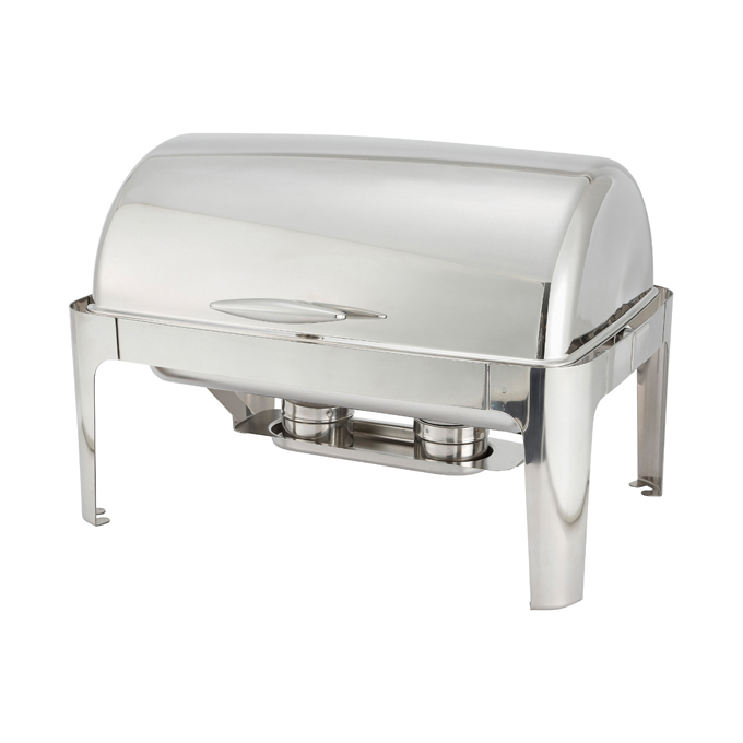 8 Quart Full-Size Chafer, Roll-Top, Stainless Steel  Regularly $168, Sale $139
