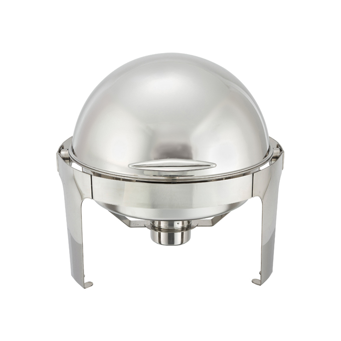 6 Quart Round Chafer, Roll-Top, Stainless Steel  Regularly $168, Sale $139