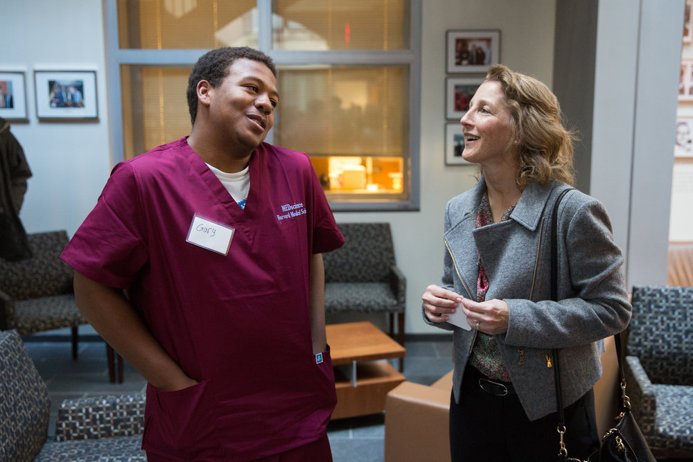 MEDscience student & First Lady Baker WBUR Feature